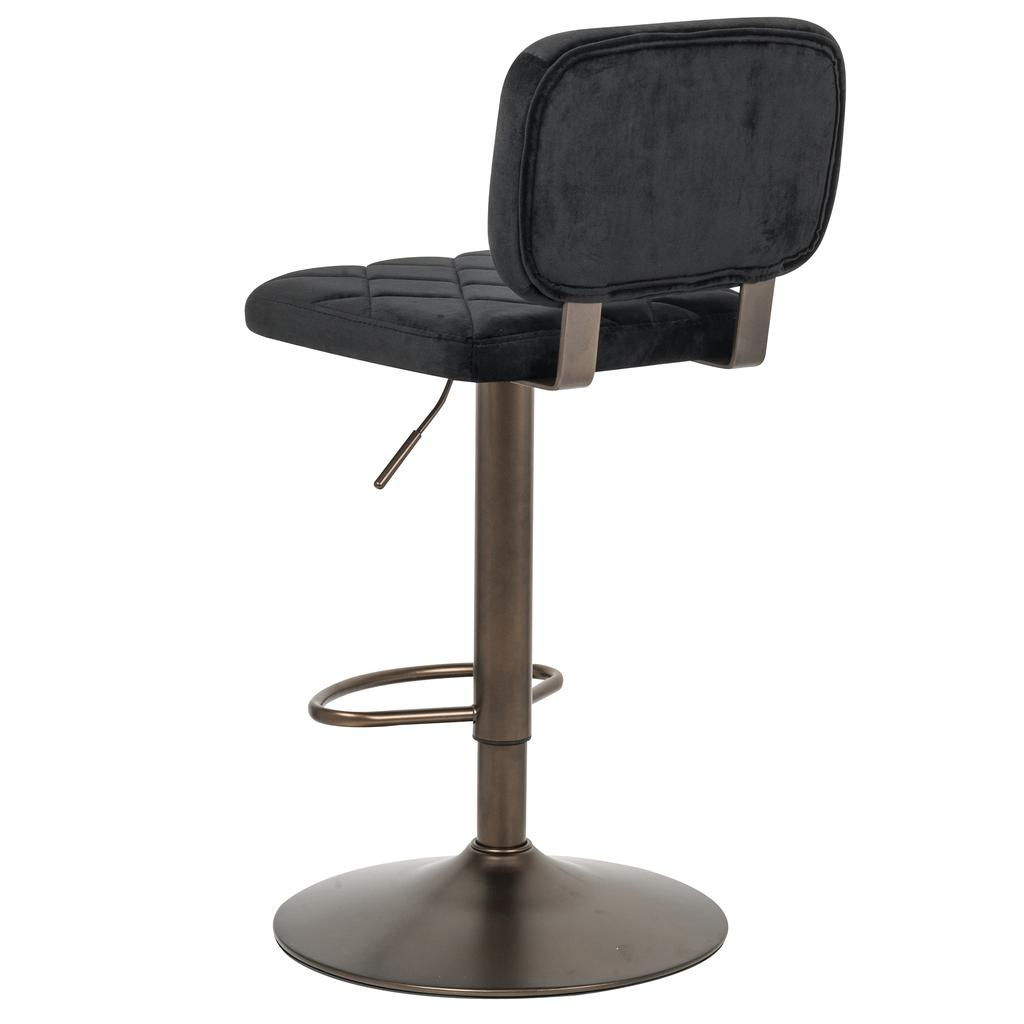 Aiko Adjustable Air Lift Stool With Firm Foam Cushion