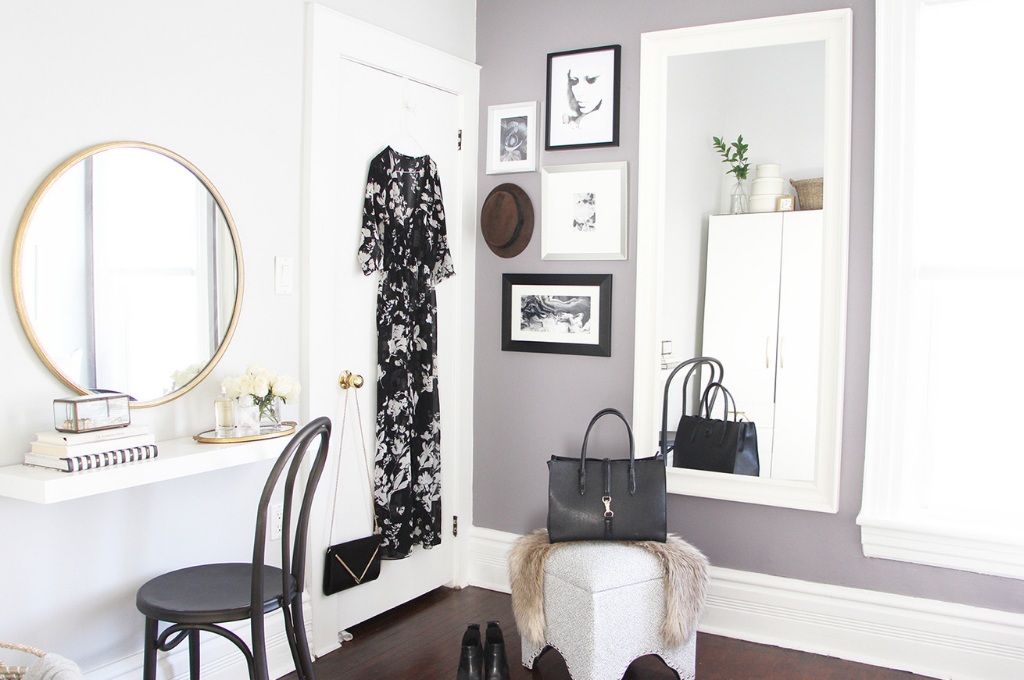 Dressing room Design by Marcy Mussari Interiors